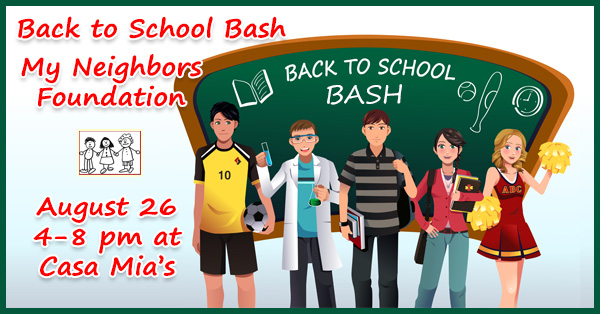 Back to School Bash at Casa Mia's Monkton