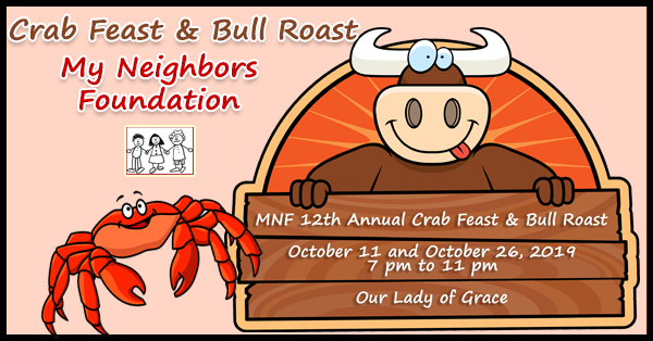 MNF 12th Annual Crab Feast & Bull Roast