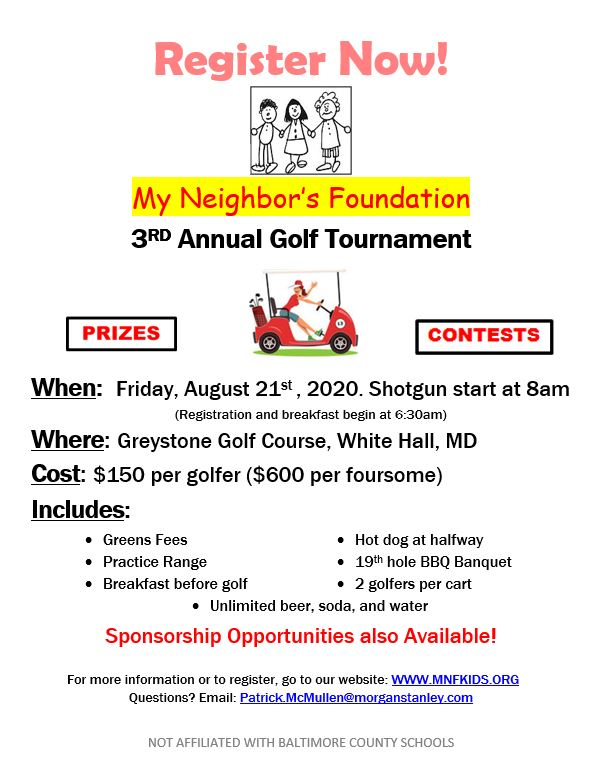2020-MNF-Golf-Tournament-August-21-Greystone-Golf-Course-flyer