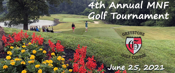 2021-06-25 Save the Date 4th Annual MNF Golf Tournament