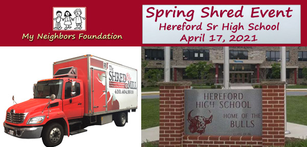 2021-04-17 Save the Date MNF Spring Shred Event